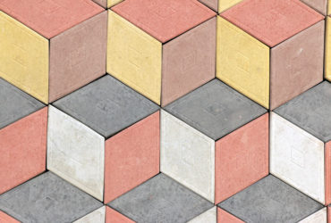 Тротуарная плитка - Ромб 3D