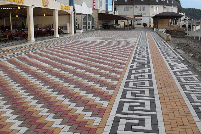 Виды тротуарной плитки и их особенности