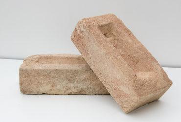Кирпич ручной формовки -Вайс